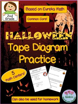 2nd grade halloween tape diagram practice based on eureka math 2nd grade halloween tape diagram practice based on eureka mathcommon core ccuart Images