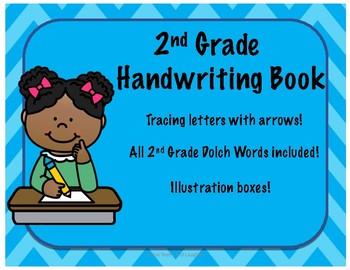 2nd Grade Handwriting Book