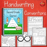 2nd Grade Handwriting Instruction and Handwriting Practice: HWT STYLE FONT
