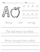 2nd Grade Handwriting Practice - D'Nealian