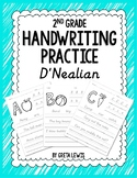 2nd Grade Handwriting Practice - D'Nealian