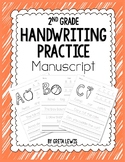 2nd Grade Handwriting Practice - Manuscript