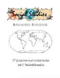 2nd Grade Harcourt Social Studies Interactive Notebook Unit 2