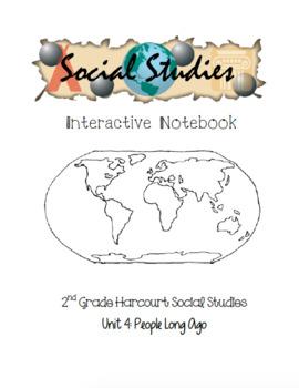 2nd Grade Harcourt Social Studies Interactive Notebook - Unit 4