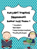 2nd Grade Harcourt Trophies Supplement: Banner Days Theme 1 {Imagine That!}