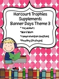 2nd Grade Harcourt Trophies Supplement: Banner Days Theme 3 {Travel Time}
