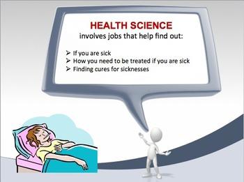 2nd Grade - Health Science Career Cluster PPT