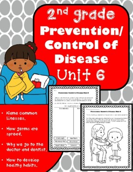 Personal hygiene unit teaching resources teachers pay teachers 2nd grade health unit 6 prevention control of disease fandeluxe Image collections
