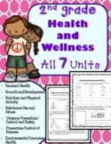 2nd Grade Health Unit for the Entire Year! (Meets Common Core)
