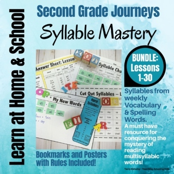 2nd Grade - Help! I Can't Read Multisyllabic Words - Journeys