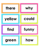 2nd Grade Reading Wonders High Frequency Word Cards - Unit 1