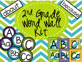 2nd Grade High Frequency Word Wall-Editable!!!