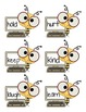 2nd Grade High Frequency words Bee Themed Flash Cards