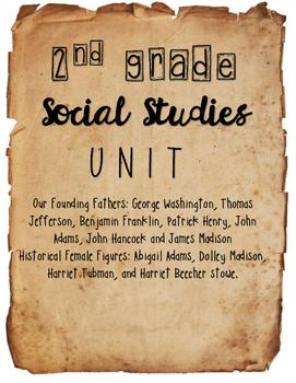 {2nd Grade} - Historical Figures UNIT