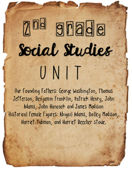 {2nd Grade} - Historical Figures UNIT