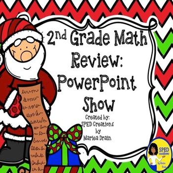2nd Grade Winter Holiday Math Review
