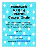 2nd Grade Writing Journals Common Core