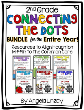 2nd Grade Houghton Mifflin Common Core BUNDLE- EVERYTHING You Need for the Year!