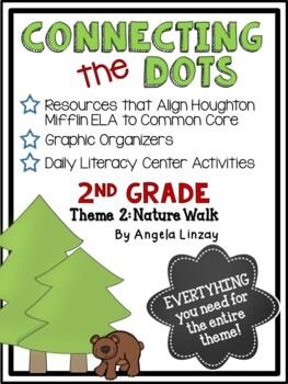 2nd Grade Houghton Mifflin Theme 2: Common Core, Graphic Organizers, & Daily 5