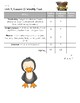 2nd Grade Houghton Mifflin Journeys Unit 5 Weekly Test Score Sheets