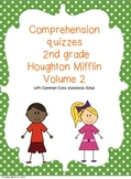 2nd Grade Houghton Mifflin Reading Comprehension Quizzes Volume 2
