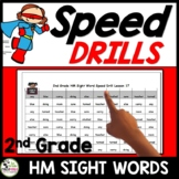 Journeys 2nd Grade High Frequency Sight Words Drills aligned with HMH Journeys