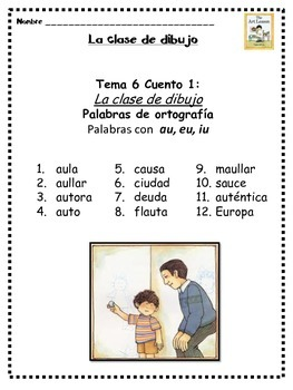 2nd Grade Houghton Mifflin Theme 6 - Balanced Literacy in Spanish