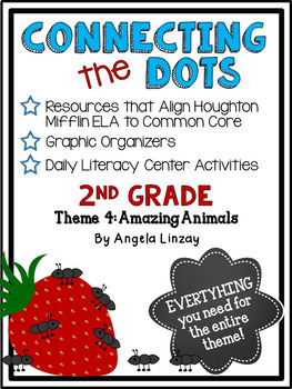 2nd Grade ELA Common Core Activities: Aligned with Houghton Mifflin Theme 4