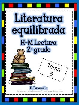 2nd Grade Houghton Mifflin Themes 4-6 Balanced Literacy in Spanish