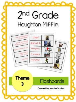 2nd Grade Theme 3 Houghton Mifflin Vocab Flashcards