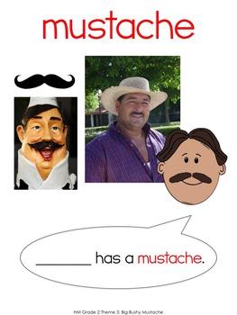 2nd Grade Houghton Mifflin Vocab Pack for Theme 3: Big Bushy Mustache