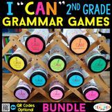 2nd Grade I CAN Grammar Games | Literacy Centers | BUNDLE