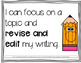 I Can Statements 2nd Grade Editable