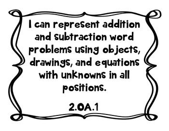 """2nd Grade """"I Can"""" Statements for All Subjects - CCSS & Revised Standards"""