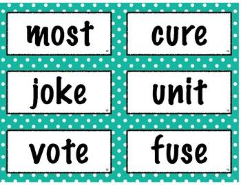 2nd Grade Imagine It! Spelling Cards - Unit 1