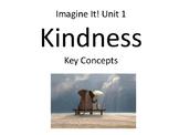 2nd Grade Imagine It Unit 1 Kindness Concept Cards