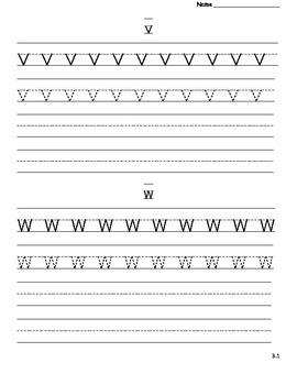 2nd Grade Imagine It! Unit 3 Printing Practice