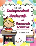 2nd Grade Independent Seatwork Activities