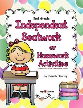 2nd Grade Independent Seatwork Activities