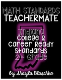 2nd Grade Indiana College & Career Ready Standards MATH TEACHERMATE PACK