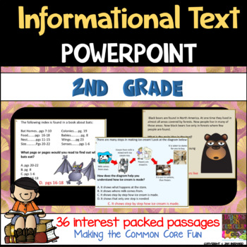 2nd Grade Informational Text PowerPoint