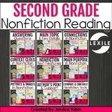2nd Grade Reading Informational Bundle- Common Core Reading Units RI.2
