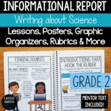 2nd Grade Informational Report Writing Unit {W.2.2}