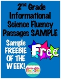 Fluency Passages 2nd Grade Informational Science Set 1 SAMPLE FREEBIE