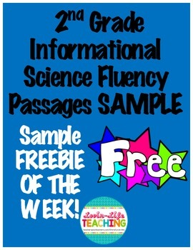 Fluency Passages 2nd Grade Informational Science Set 1 SAM