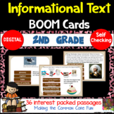 2nd Grade Informational Text Boom Cards