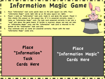 2nd Grade Informational Text Task Cards