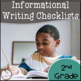 2nd Grade Informational Writing Checklist
