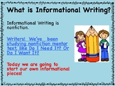 2nd Grade Informational Writing Unit - Based on Lucy Calkins