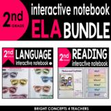 2nd Grade Interactive ELA Notebook BUNDLE